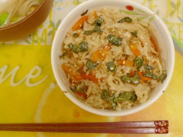 Nasi Tim Jamur ala Jepang (Takikomi Gohan)